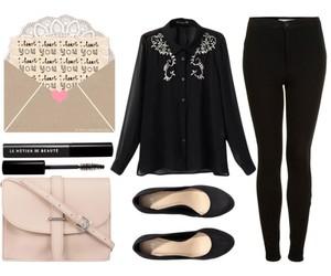bag, clothes, and elegant image