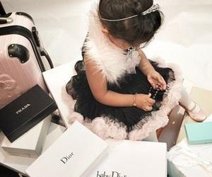 fashion, dior, and baby image