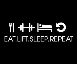 eat, lift, and repeat image