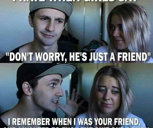 funny, friends, and quotes image