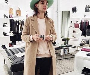 beautiful, coat, and fashion image