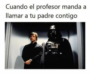 darth vader, profesor, and chiste image