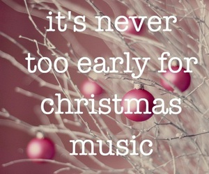 christmas, music, and winter image