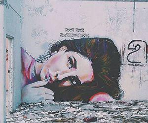 art, lana del rey, and graffiti image