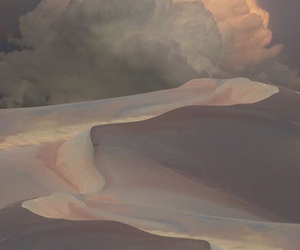 clouds, desert, and nature image
