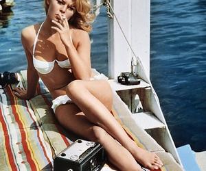 brigitte bardot, vintage, and sea image