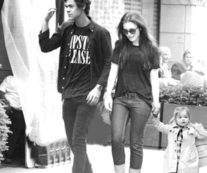 lily collins, harry style, and hily image
