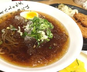 korean food, noodles, and momil image