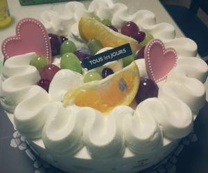 birthday, cake, and desert image