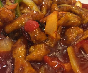 chinese, meal, and korean food image