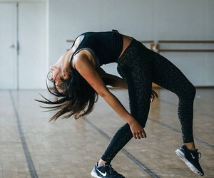dance, fitness, and nike image