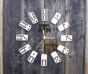 clock, domino, and diy image