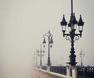 bridge, fog, and france image