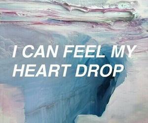 art, feelings, and heart image