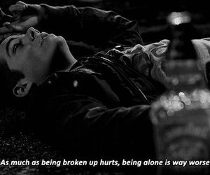 teen wolf, alone, and quotes image