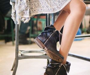 boots, shoes, and dress image