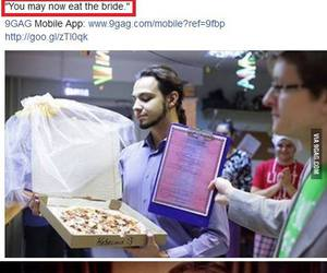 funny, haha, and pizza image