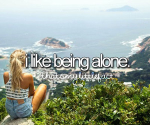 alone, quotes, and like image