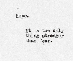 fear, hope, and poetry image
