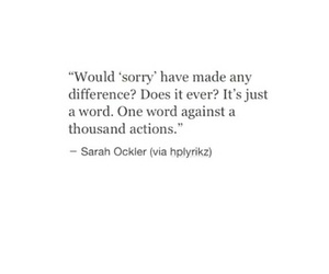 Action, diffrence, and quotes image