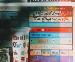 books, fangirl, and read image