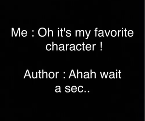 book, author, and character image