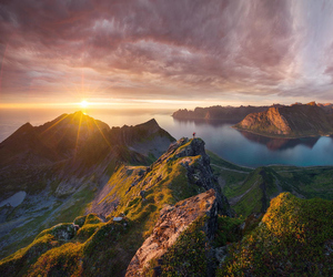 landscape, norway, and nature image