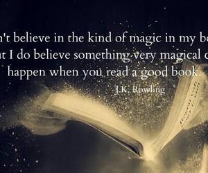 book, magic, and jk rowling image