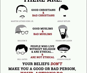 religion, bad, and good image