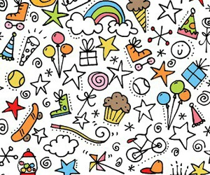 art, cumple, and doodles image