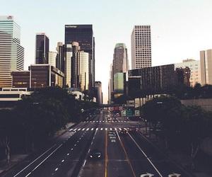 city, day, and la image