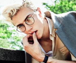 bae, model, and lucky blue image