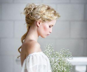 beautiful, feminine, and wedding image