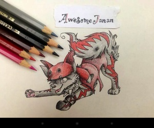 animals, art, and awesome image