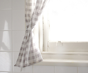 bright, clean, and curtains image