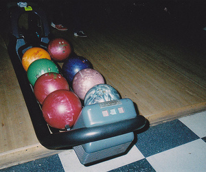 bowling, indie, and hipster image