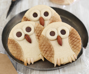 Cookies, owl cookies, and bisquits image