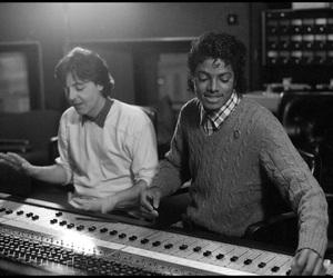 80s, michael jackson, and Paul McCartney image