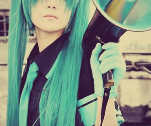 cosplay, vocaloid, and hatsune miku image