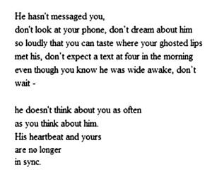 quote, broken, and heartbreak image