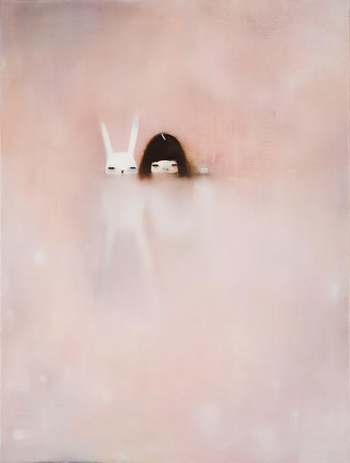 bunny, art, and hanna kim image