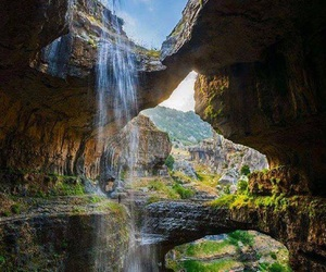 beauty, cave, and earth image