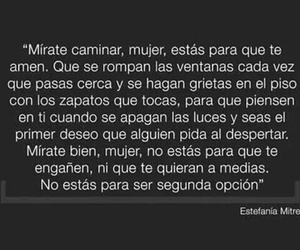 mujer and frases image