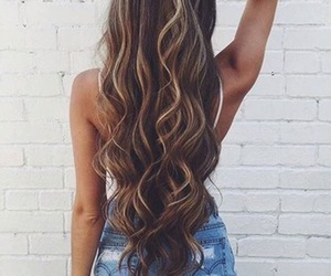 hair, fashion, and brown image