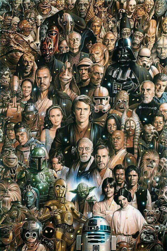 Star Wars Wallpaper Collage Wallpapershit