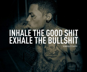 bullshit, kid ink, and quote image
