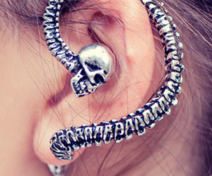 metal, python, and unique jewelry image