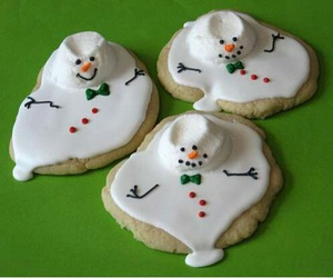 snowman, Cookies, and food image