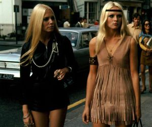 girl, 70s, and blonde image