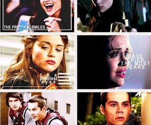 teen wolf, stiles, and allison argent image